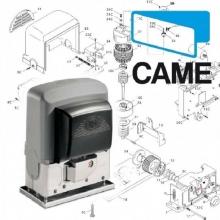 Came 001BK-1200P Automazione 230V AC con PRATICOSYSTEM