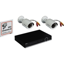Bticino 391119 Kit Videosorveglianza AHD con DVR AHD 4 Ingressi