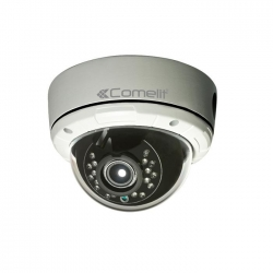 Comelit IPCAM168A | Telecamera IP Minidome FULL-HD, 2.8-12MM, IR 15M, IP65