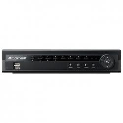 DVR H264 COMELI, 8 INGRESSI VIDEO, SERIE RAS, 200 IPS, HDD 500GB MDVR828B