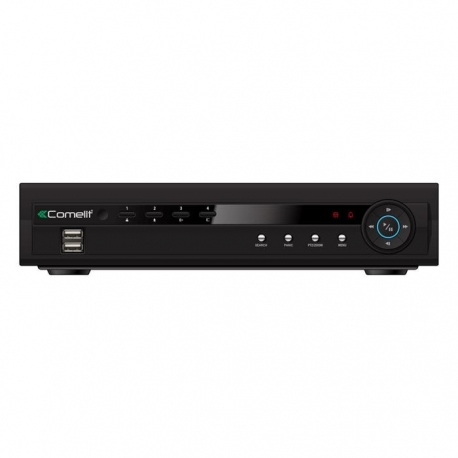 DVR H264 COMELIT 4 INGRESSI VIDEO, SERIE RAS, 100 IPS, HDD 250GB 49824