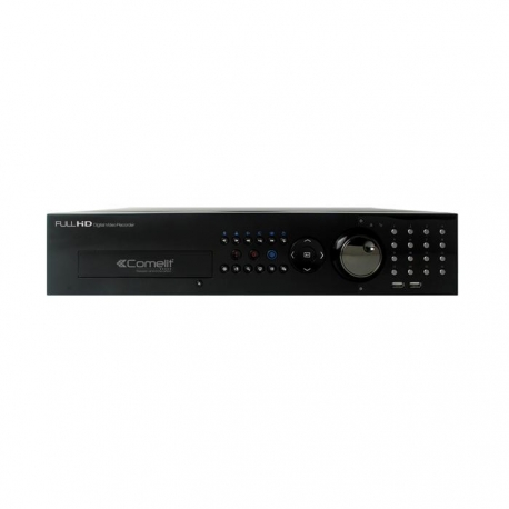 DVR H264 COMELIT, 16 INGRESSI VIDEO, SERIE RAS, HDD 500GB HDVR836B