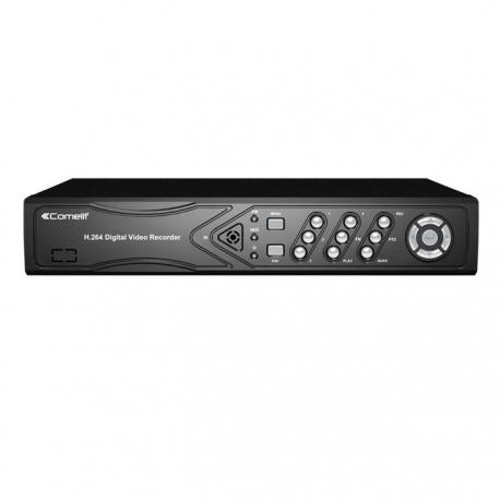 DVR H264 COMELIT, 4 INGRESSI VIDEO, 100 IPS, 960H, HDD 500GB SDVR040A