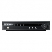 DVR H264 COMELIT, 4 INGRESSI VIDEO, SERIE RAS, 100 IPS, HDD 500GB MDVR824B