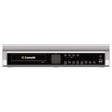 DVR H264 COMELIT, 4 INGRESSI VIDEO, SERIE RAS, 100 IPS, HDD 500GB MDVR825B