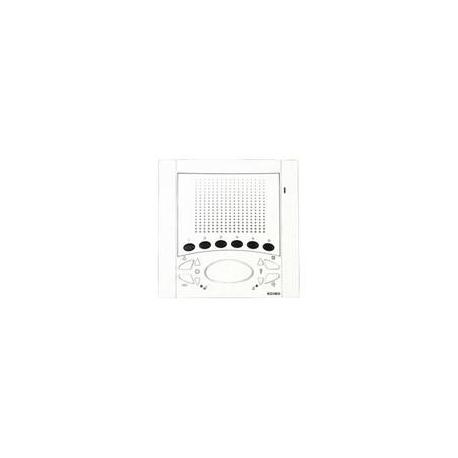 Elvox 6611/AU Citofono Intercomunicante Incasso Bianco