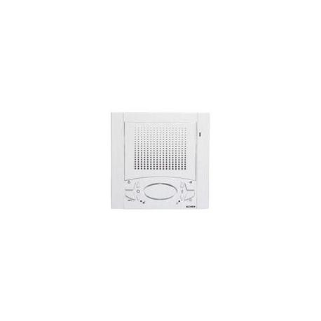 Elvox 6701/AU Citofono Vivavoce parete Due Fili Plus Bianco