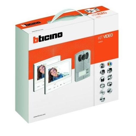Bticino 365621 | Kit Video Vivavoce Bifamiliare