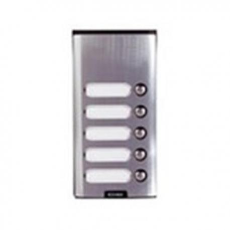 Elvox 8155 - Placca da parete supplementare con 5 pulsanti.