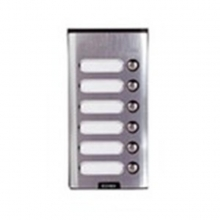 Elvox 8156 - Placca da parete supplementare con 6 pulsanti