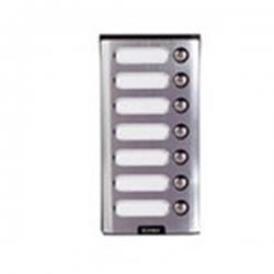 Elvox 8157 - Placca da parete supplementare con 7 pulsanti