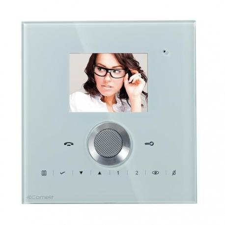 Comelit 6101W/C Monitor colori Vivavoce Serie Planux Lux - White
