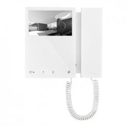 Comelit 6700W Monitor Mini B/W con cornetta White Sistema SBTOP
