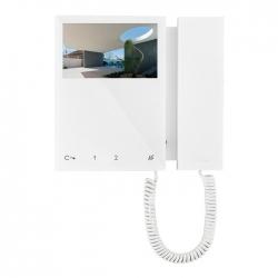 Comelit 6701W | Monitor Mini colori con cornetta