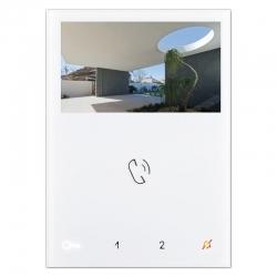 Comelit 6721W   Monitor Mini Vivavoce a colori  White