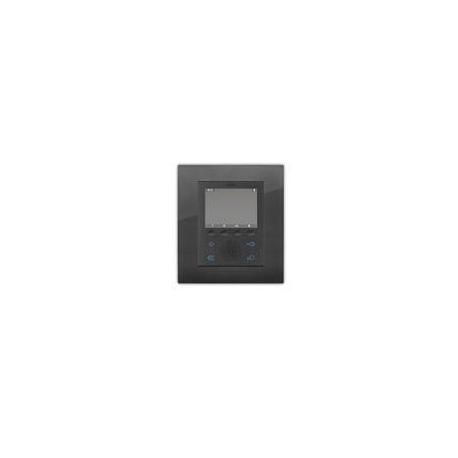 Elvox 5721/04 Videocitofono Vivavoce incasso Due Fili Plus Nero