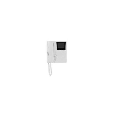 Elvox 6329 Videocitofono Giotto bianco e nero Due Fili Plus Bianco
