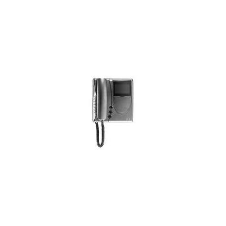 Elvox 6329/37 Videocitofono Giotto bianco e nero Due Fili Plus Titanio