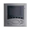 Elvox 6611/37 Videocitofono Vivavoce parete Due Fili Plus intercomunicante Titanio