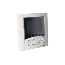 Elvox 6711 Videocitofono Vivavoce da parete Fili Plus Bianco