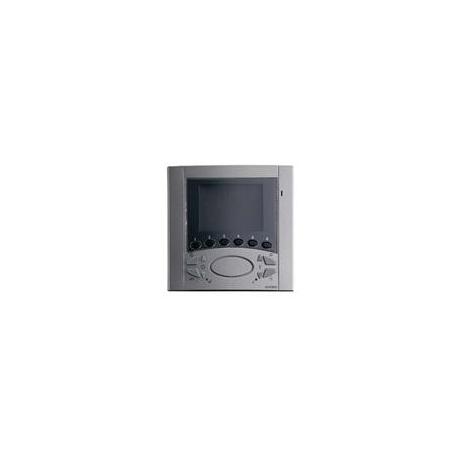 Elvox 6711/37 Videocitofono Vivavoce da parete Fili Plus Titanio