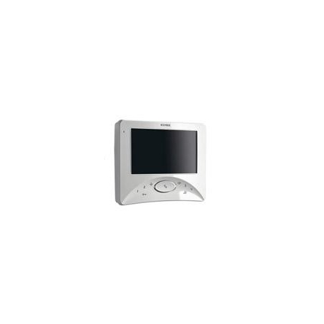 Elvox 7321  Videocitofono Wide Touch parete Bianco
