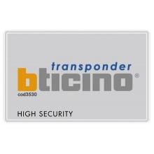 Badge portatile per attivazione Antifurto e automazioni BTICINO 3530S