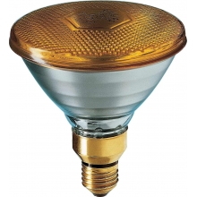 Philips 80PAR38FLGI | Lampada Incandescenza PAR38 Colorate