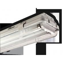 Plafoniera 118RE Beghelli lampadina PL STG 1X18W EL BS102 IP65
