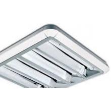 Plafoniera 12700 Beghelli BS241 lampada RE 455 DIFFONDENTE