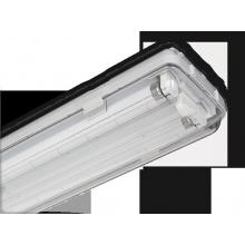 Plafoniera 13619 Beghelli lampada PL STG 2X36W BS101 IP65