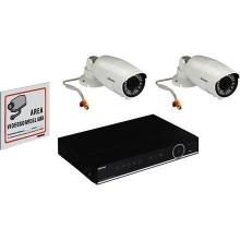 Bticino 391120 Kit Videosorveglianza AHD con DVR AHD 8 ingressi