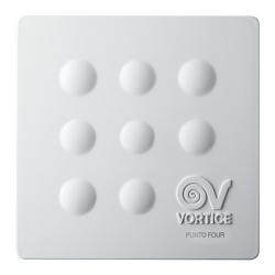 "Vortice 11144 Aspiratore Elicoidale Punto Four MFO 90/3,5"" T"