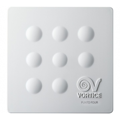 "Vortice 11147 Aspiratore Elicoidale Punto Four MFO 120/5"""