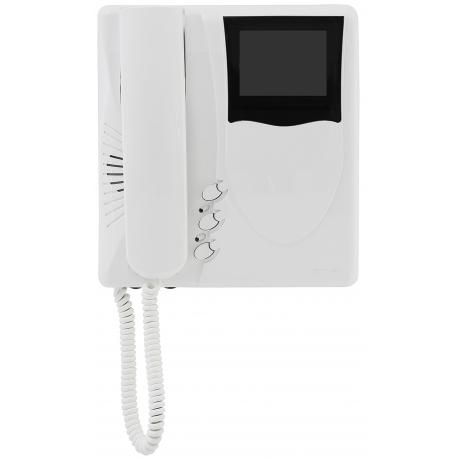 Elvox 6329/C Videocitofono Giotto colore Due Fili Plus Bianco