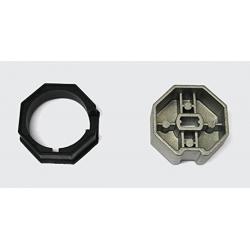 BFT N999323 AD5027 Set adatt. 50, ottagonale 60 metall