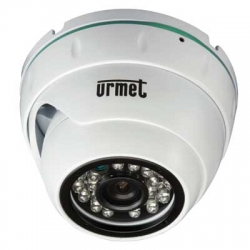Urmet 1092/270 | Telecamera Minidome AHD ottica 3.6mm con Filtro IR Cut
