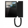 Comelit 6701B | Monitor Mini a colori con cornetta Black