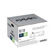 FAAC 106746445 | kit Cancelli Battente Interrato Power 230V Kit