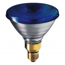 Philips 80PAR38FLBL | Lampada Incandescenza PAR38 Colorate