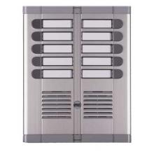 Urmet 925/210 | Pulsantiera a dieci pulsanti con frontale in alluminio