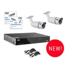 Urmet 1093/KN8 | kit Videosorveglianza AHD con HVR 8 Canali