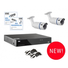 Urmet 1093/KN4 | kit Videosorveglianza AHD con HVR 4 Canali