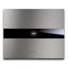 Ave 44PATC3ALS | Placca Touch Alluminio 3 Moduli
