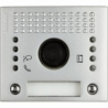 Bticino 342481 | Frontale Sfera audio-video Allmetal 2 tasti