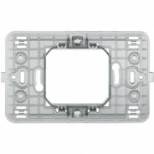 Bticino 500S/23A | matix - supporto 2 mod centr scatola tonda