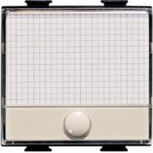 Bticino A5008 | matix magic - pulsante targa portanome