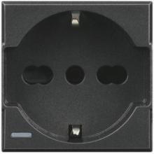 Bticino HS4140/16 | axolute - presa std tedesco/italiano