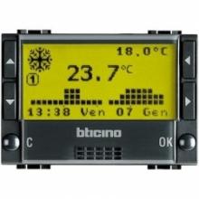 Bticino L4451 | living inernationalt - cronotermostato a batterie