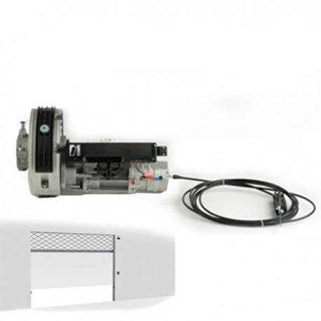 Came 001H40230120 Motore irreversibile per serranda H4 cordino e manopola 120Kg